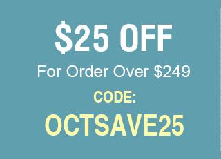 $25 For Order $248+